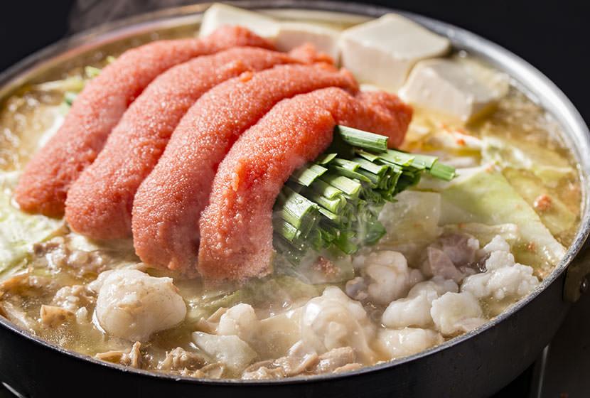 明太子モツ鍋